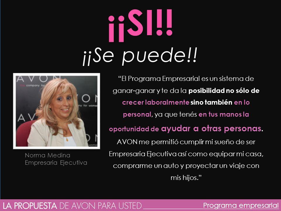 Miriam Bertuzzi Empresaria Senior Programa empresarial ¡¡SI!.