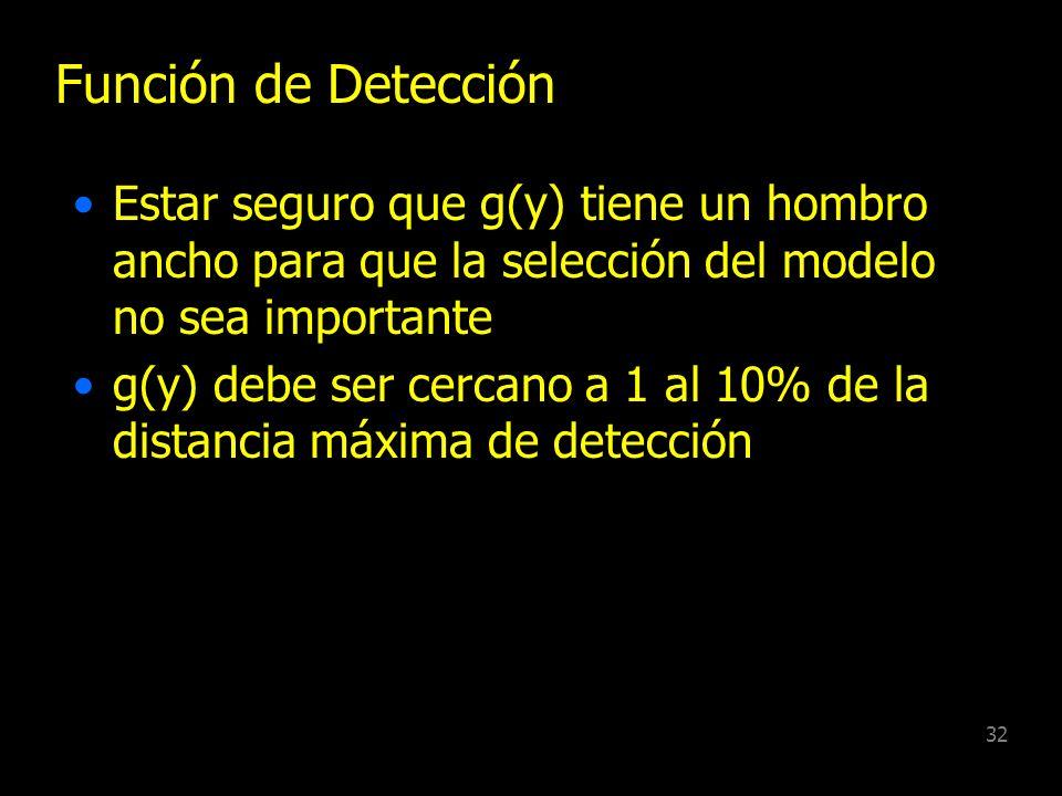 31 Recomendaciones Precisión en localización del Cluster, su centro y su tamaño n 80-100 para punto transecta y animales en grupo n para punto transec