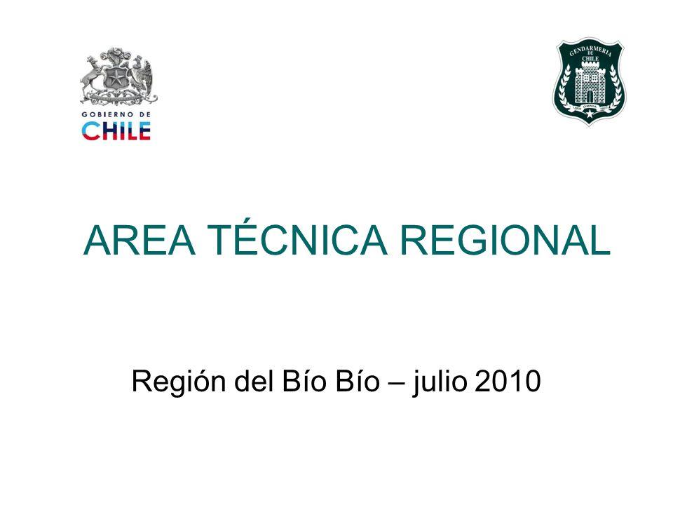 AREA TÉCNICA REGIONAL Región del Bío Bío – julio 2010