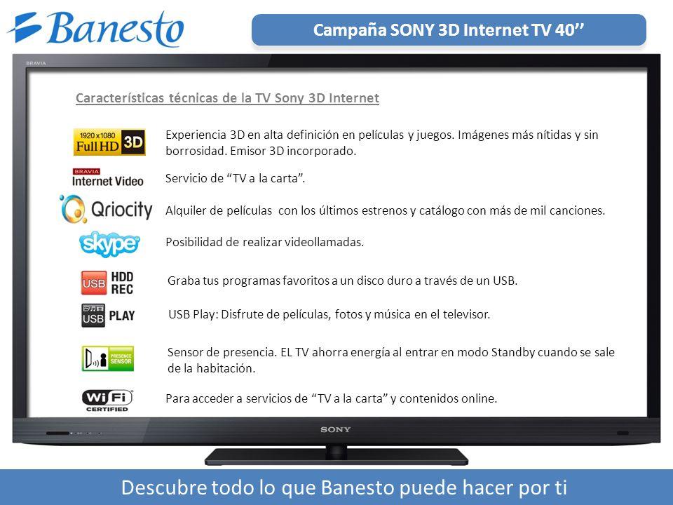 Para acceder a servicios de TV a la carta y contenidos online.