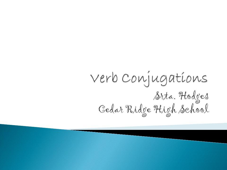 Srta. Hodges Cedar Ridge High School