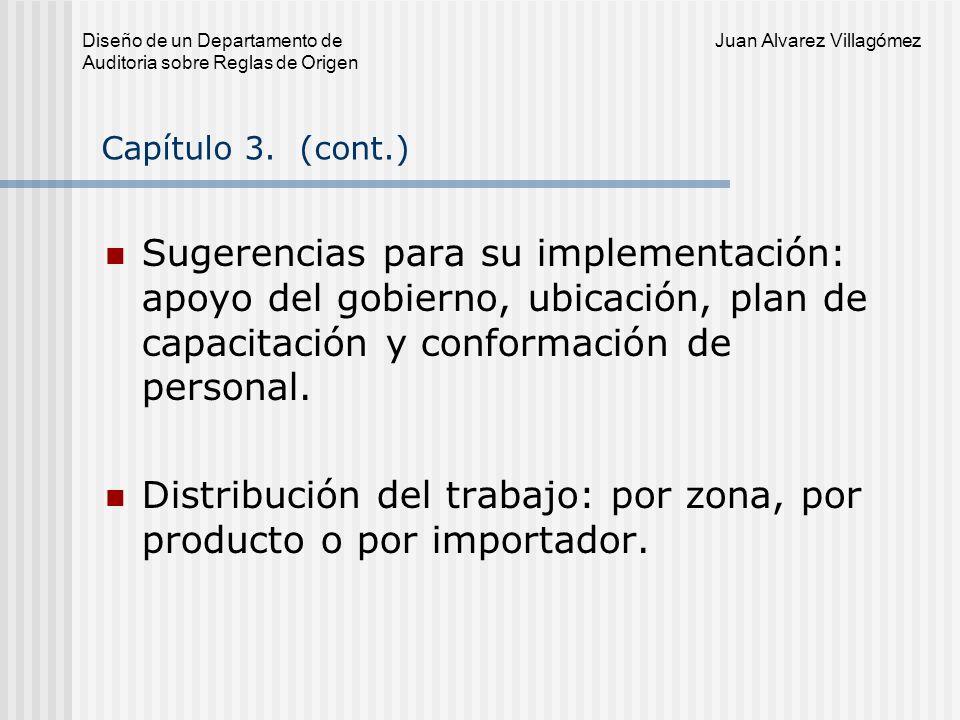 Diseño de un Departamento de Juan Alvarez Villagómez Auditoria sobre Reglas de Origen Capítulo 4.