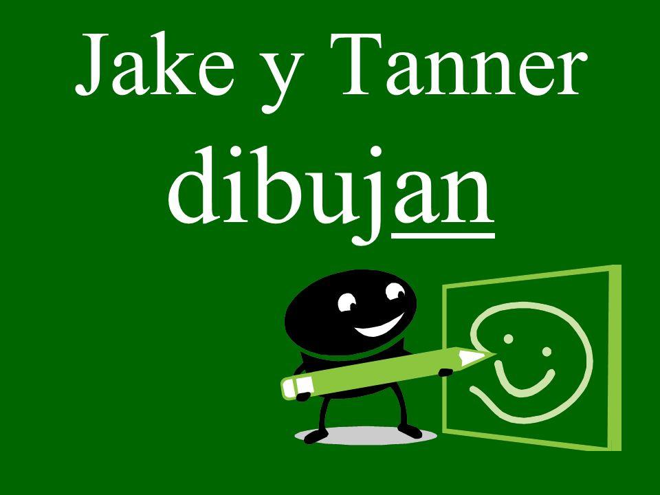 Jake y Tanner dibujan