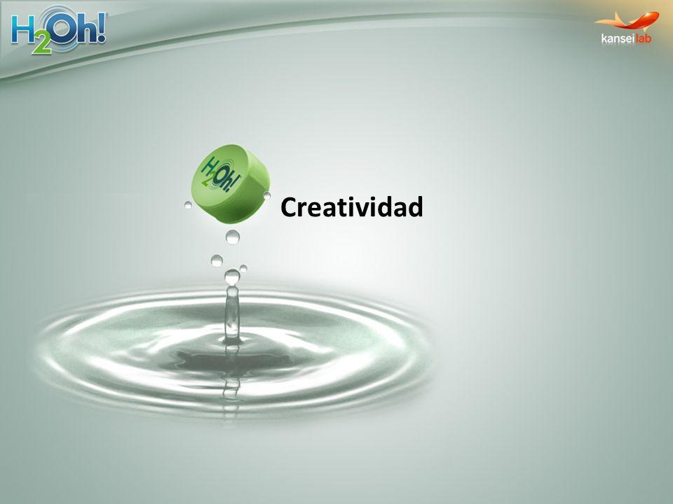 Estrategia Medios Penetrar el concepto de H2Oh.