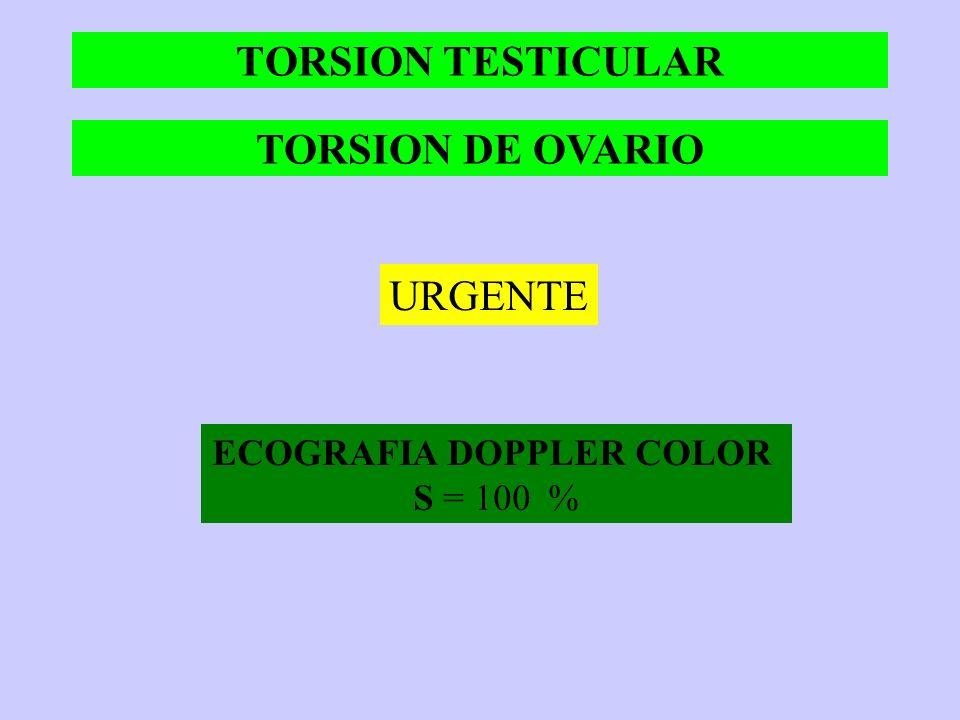 INFARTO MESENTERICO TC es de elección ante la sospecha del cuadro S = 82 % y E = 93 % > Utilidad en la isquemia venosa El fofato serico S = 25-85% y E