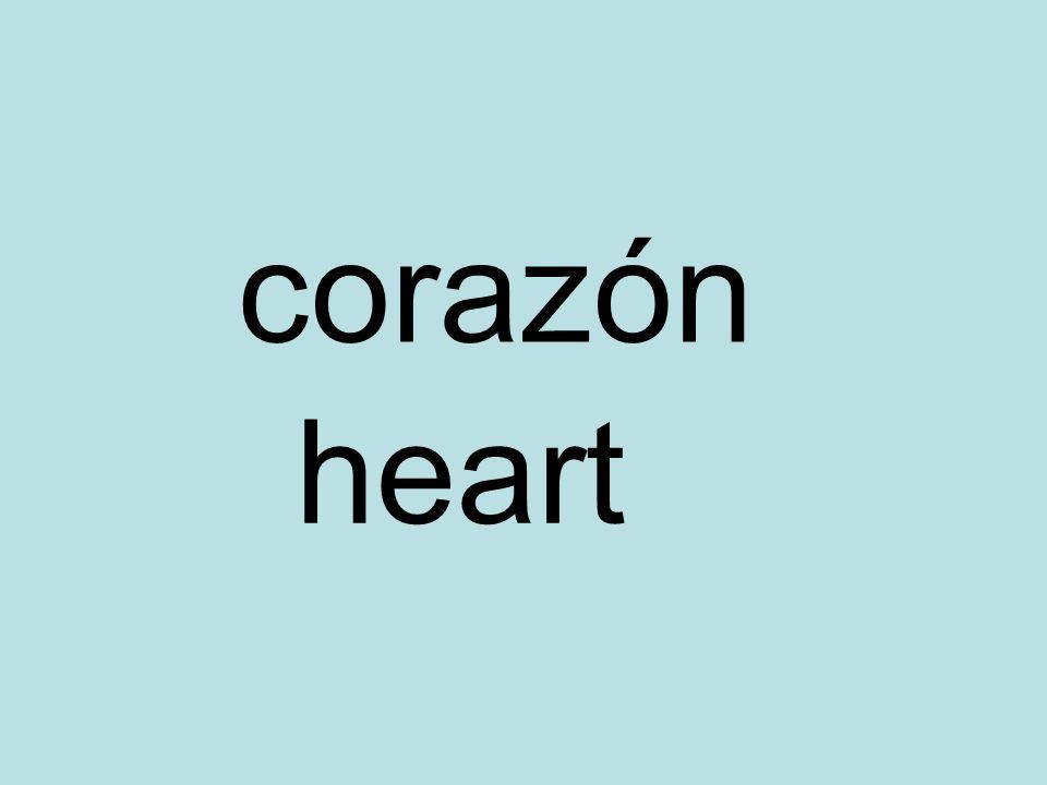corazón heart