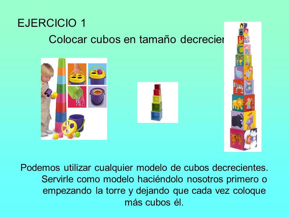 EJERCICIO 2 Construir torres de hasta 8 bloques.