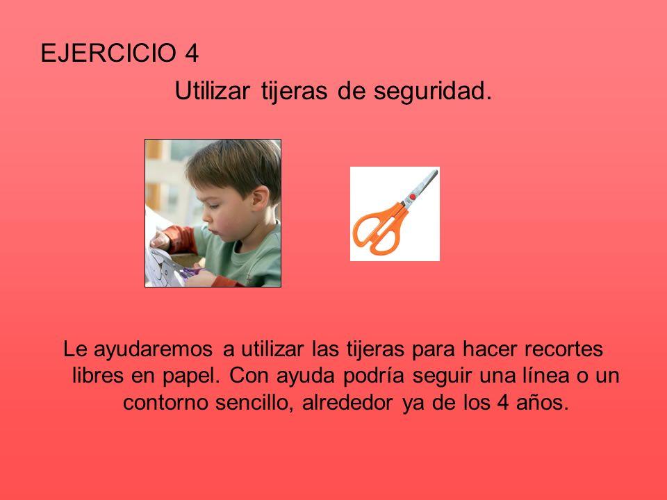 EJERCICIO 5 Repasar puntos discontinuos para completar un dibujo.