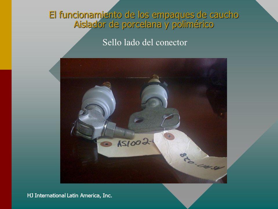 HJ International Latin America, Inc. El funcionamiento de los empaques de caucho Aislador de porcelana y polimérico Sello lado del conector