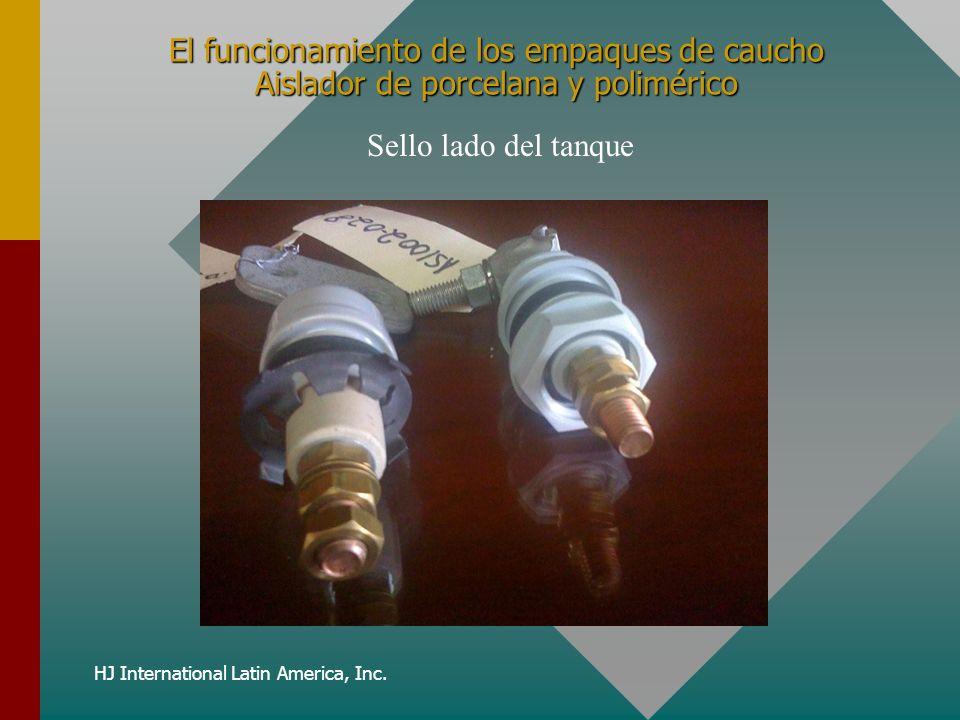 HJ International Latin America, Inc. El funcionamiento de los empaques de caucho Aislador de porcelana y polimérico Sello lado del tanque