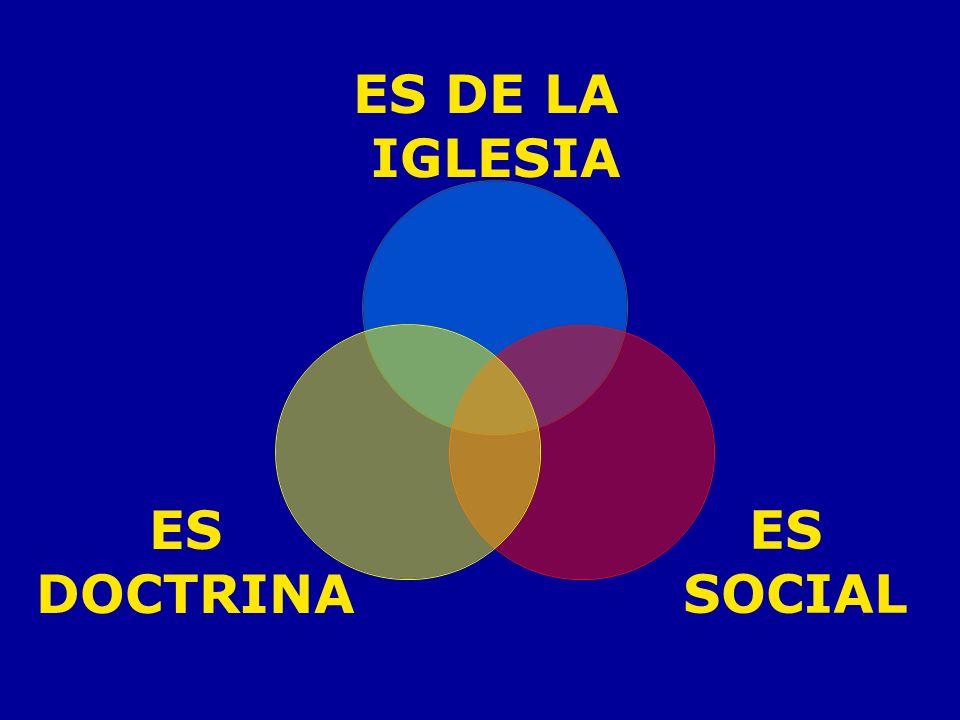 La Doctrina Social de la Iglesia: 1.No se inicia en 1891 con la Rerum Novarum del papa León XIII.