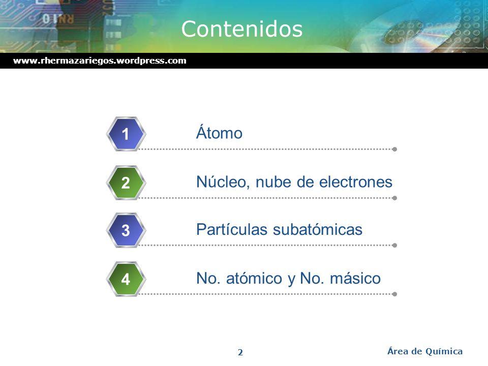 Área de Química 2008 Estructura Atómica Lic. Raúl Hernández Mazariegos http://rhermazariegos.wordpress.com/ http://raulher.wordpress.com http://raulhe