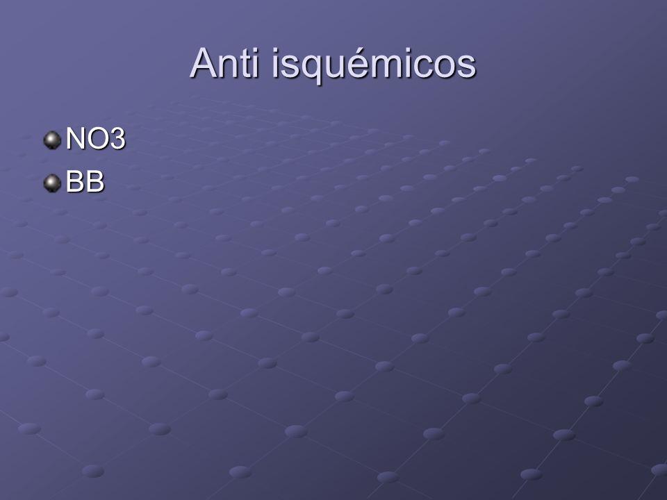 Anti isquémicos NO3BB