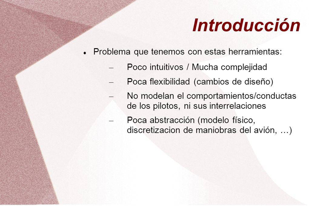 Introducción Problema que tenemos con estas herramientas: – Poco intuitivos / Mucha complejidad – Poca flexibilidad (cambios de diseño) – No modelan e