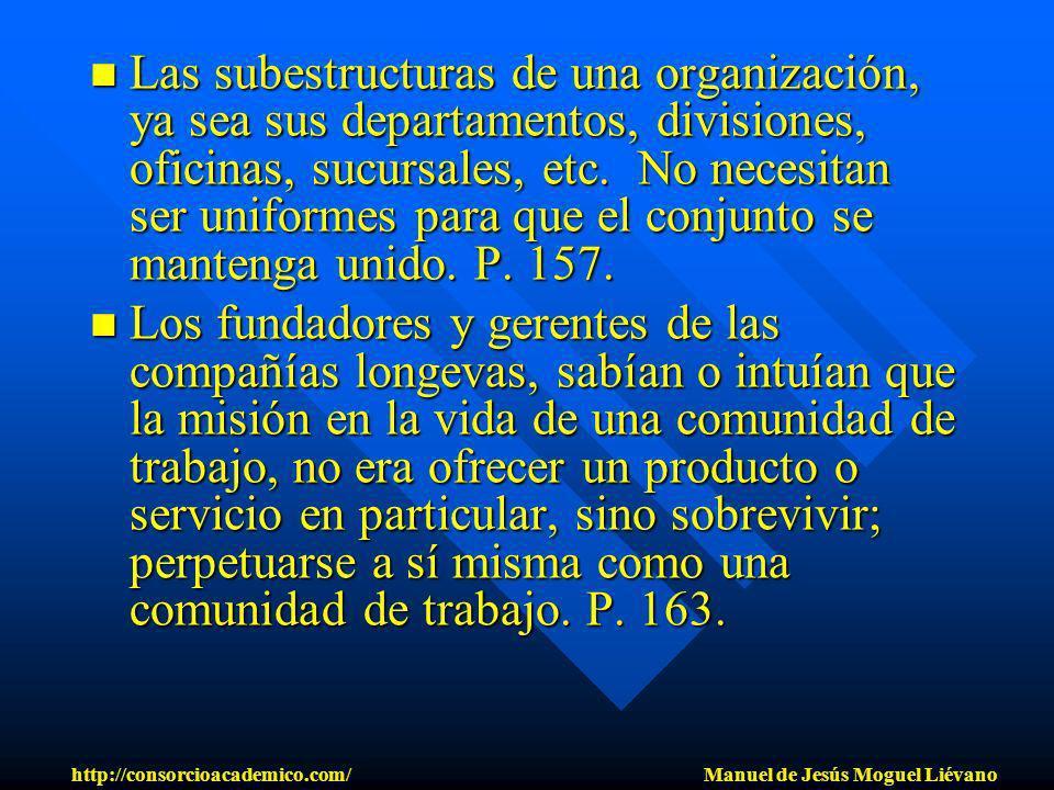 Las subestructuras de una organización, ya sea sus departamentos, divisiones, oficinas, sucursales, etc. No necesitan ser uniformes para que el conjun