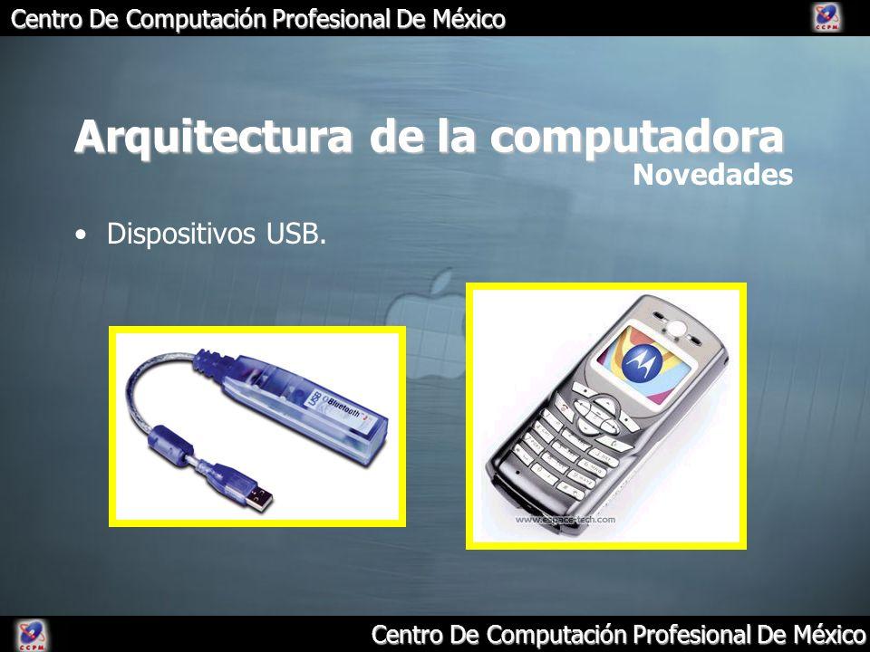 Arquitectura de la computadora Dispositivos USB. Novedades