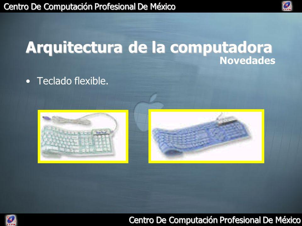 Centro De Computación Profesional De México Arquitectura de la computadora Teclado flexible. Novedades