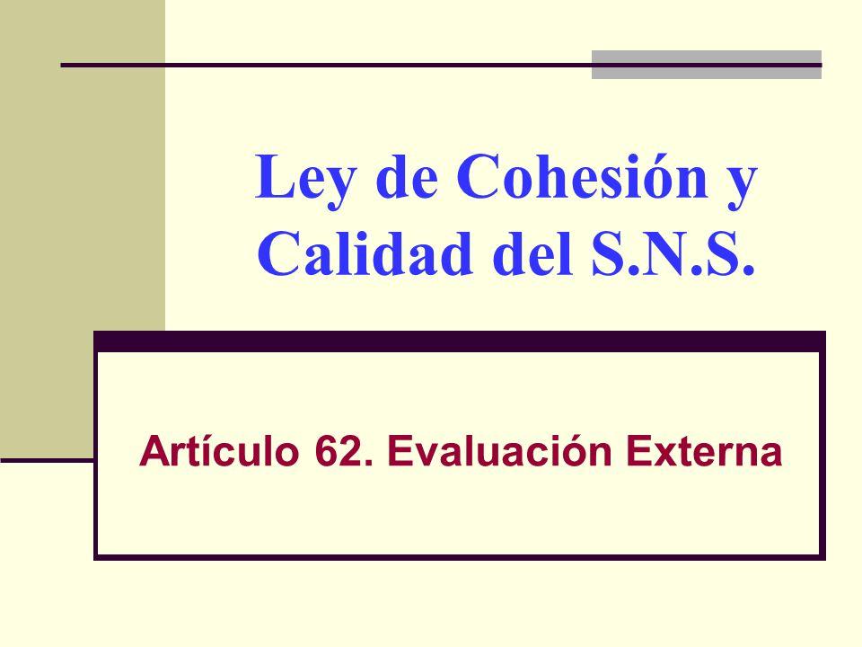 Auditorias Externas No son exclusividad de la Inspección de las CC.AA.