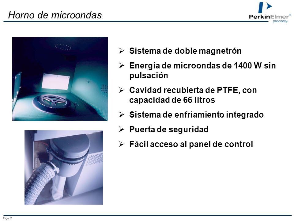 Page 27 Un horno de microondas de cocina NO ES un horno de microondas de laboratorio !!!