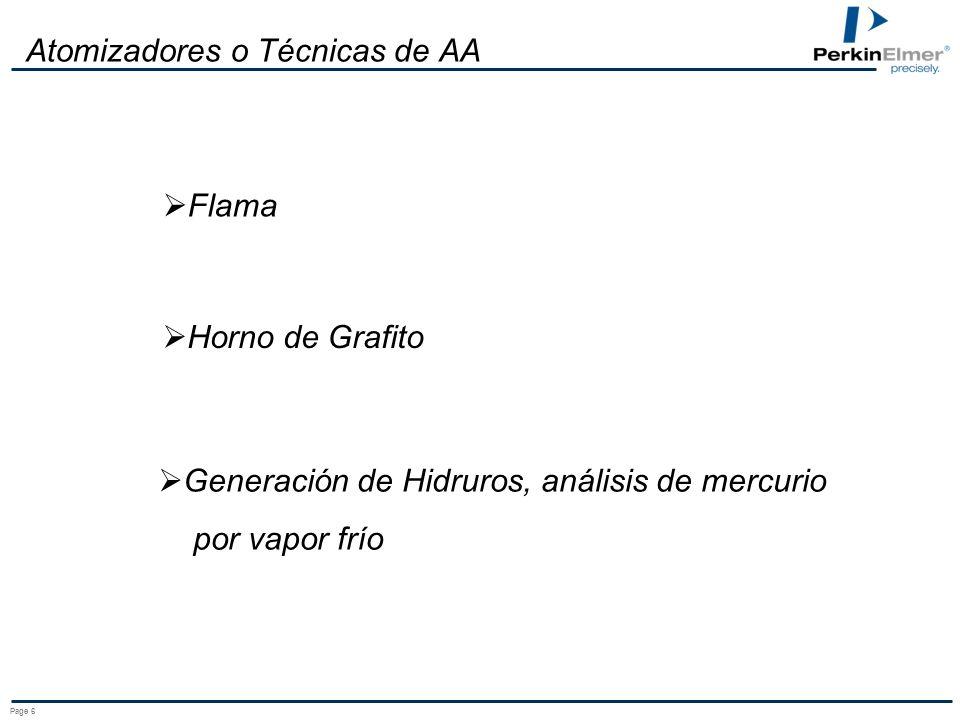 Page 5 Ley de Beer i o = Intensidad Inicial de la lámpara i = Intensidad final de la lámpara ABSORBANCIA: A = log (i o /i) ioio i