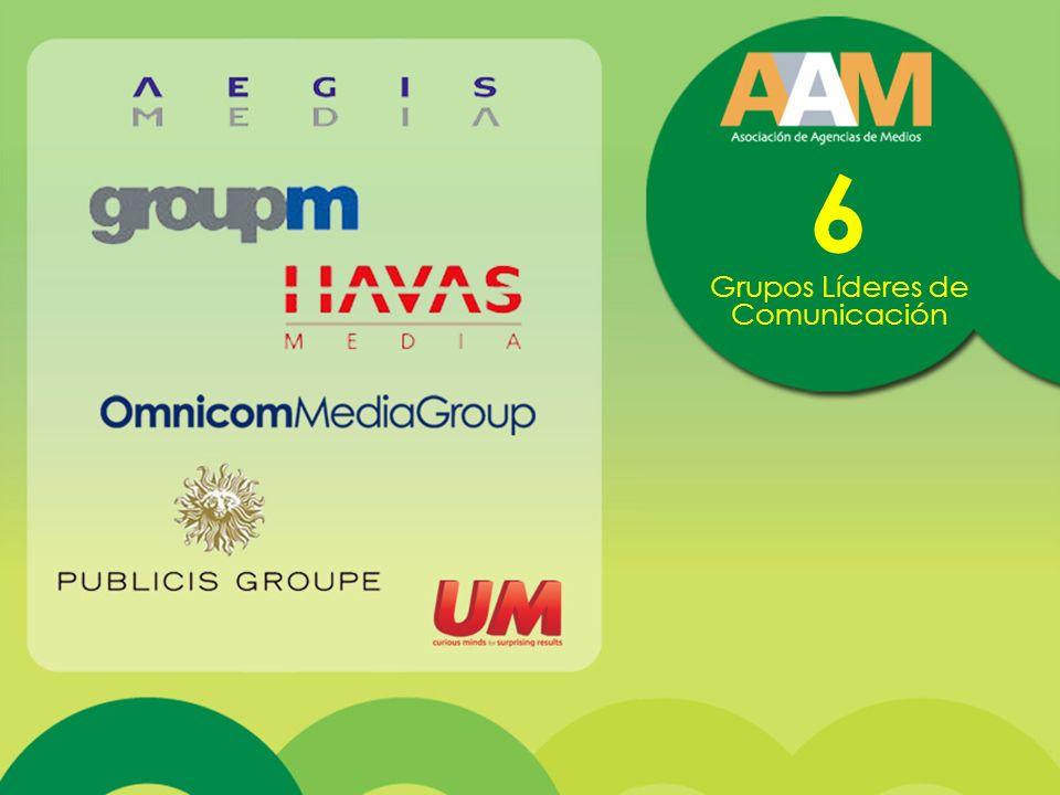 6 Grupos Líderes de Comunicación