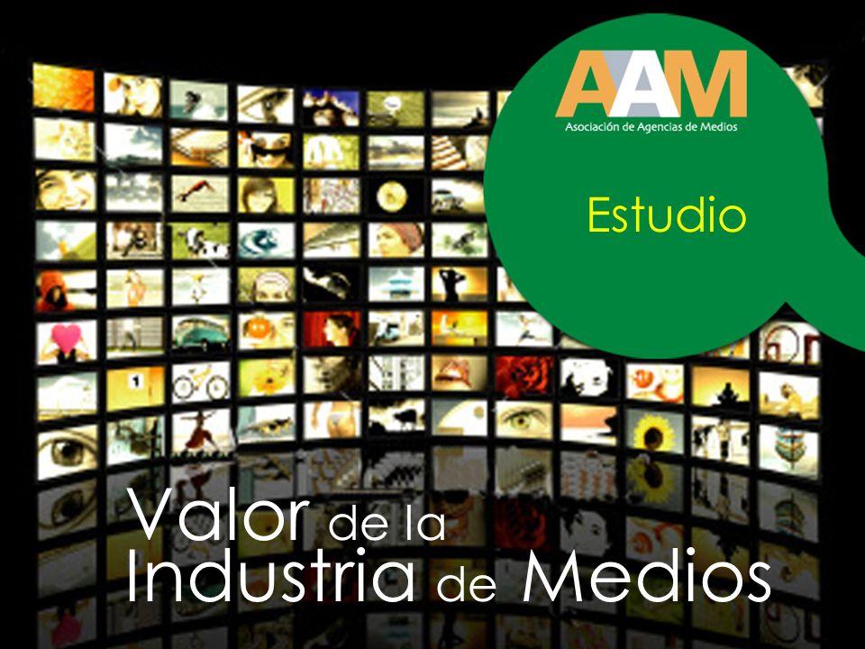 Valor de la Industria de Medios Estudio