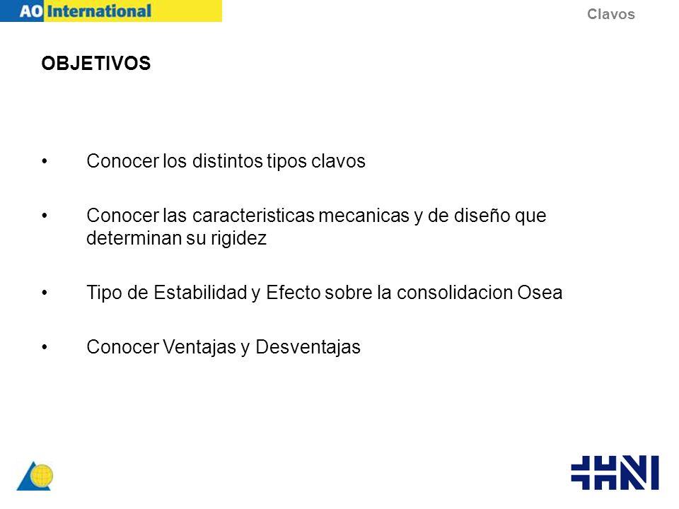 LAS 5 ETAPAS DEL ENCLAVADO 5.EXTRACCION Indicaciones –Fx Consolidada en paciente joven –Recambio por pseudoartrosis –Fatiga implante –Dolor –Infeccion Set de extraccion Clavos