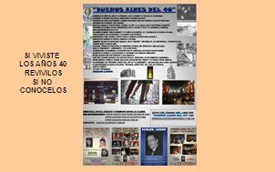 LOS JUEVES Y SÁBADOS DESDE LAS 21HS. EN SAN TELMO LOS JUEVES A LAS 12HS POR RADIO