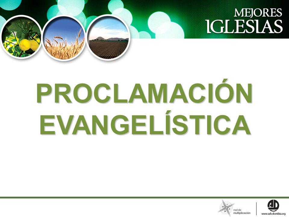PROCLAMACIÓN EVANGELÍSTICA