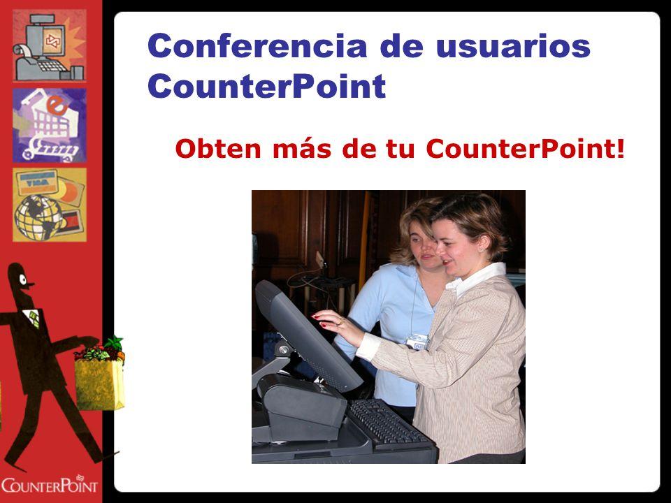 Soluciones para tu negocio CounterPoint V7 sistema de punto de venta para tu negocio, ventas al por mayor u ordenes via correo CPOnline abre tu tienda online.