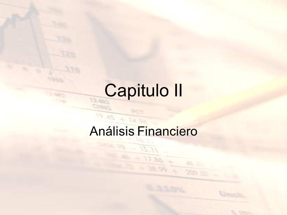 Capitulo II Análisis Financiero
