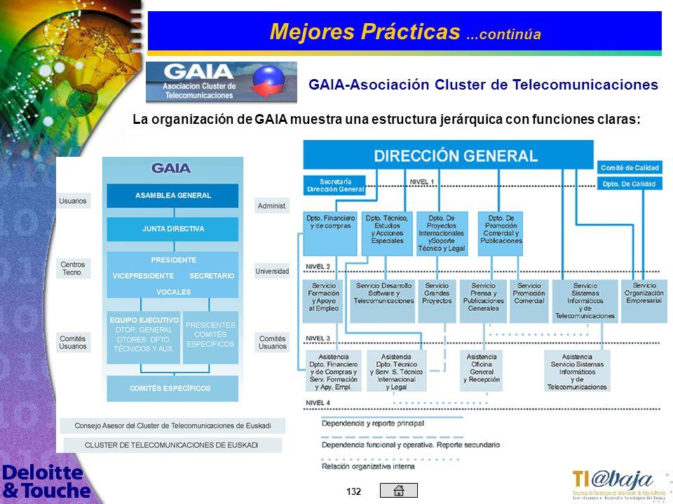 131 3.La cooperación proactiva en desarrollo de la Sociedad de la Información. 4.El fomento de la Colaboración Interempresarial, formación continua y