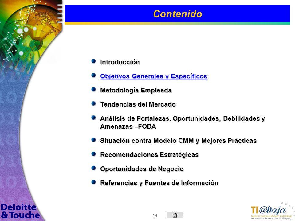 13 El sector de la industria del software en Baja California tiene grandes ventajas en su desarrollo frente a otros estados de la república por proble