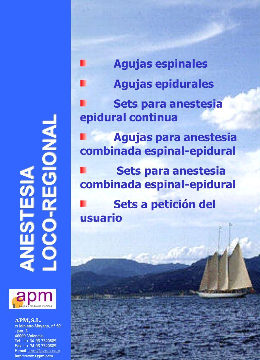 APM, S.L. c/ Ministro Mayans, nº 50 - pta. 3 46009 Valencia.