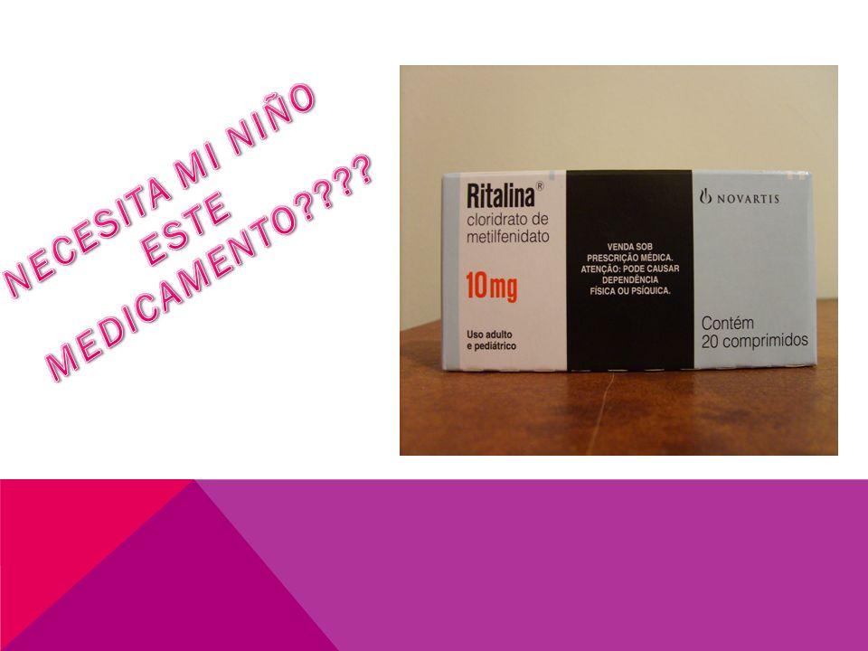 METILFENIDATO (RITALINA) ELABORADO POR: Dra Maureen Méndez Farmacéutica Ebais Cristobal Colon