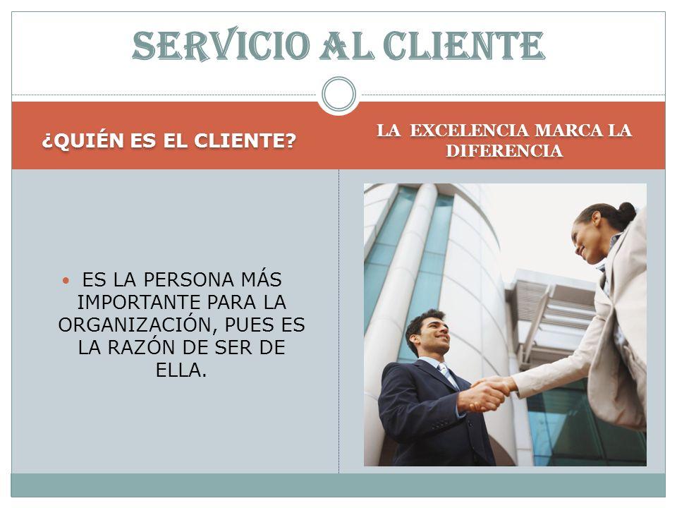 EL CLIENTE El cliente es la persona más importante para nosotros, ya sea en persona, por carta o a través de medios tecnológicos. El cliente es la per