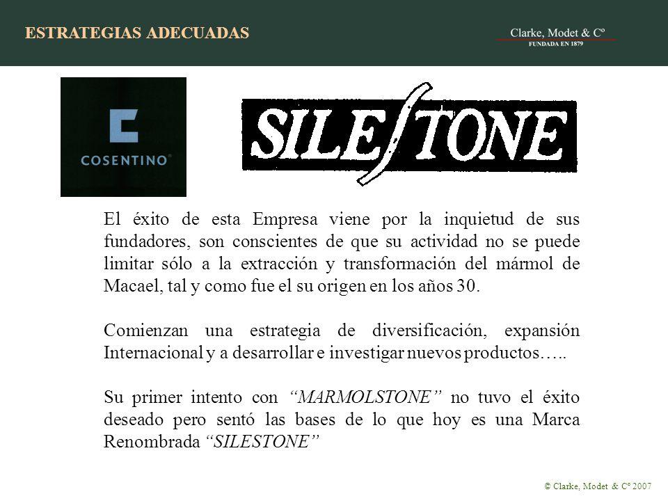ESTRATEGIA CON ÉXITO El éxito de esta Empresa viene por la inquietud de sus fundadores, son conscientes de que su actividad no se puede limitar sólo a la extracción y transformación del mármol de Macael, tal y como fue el su origen en los años 30.