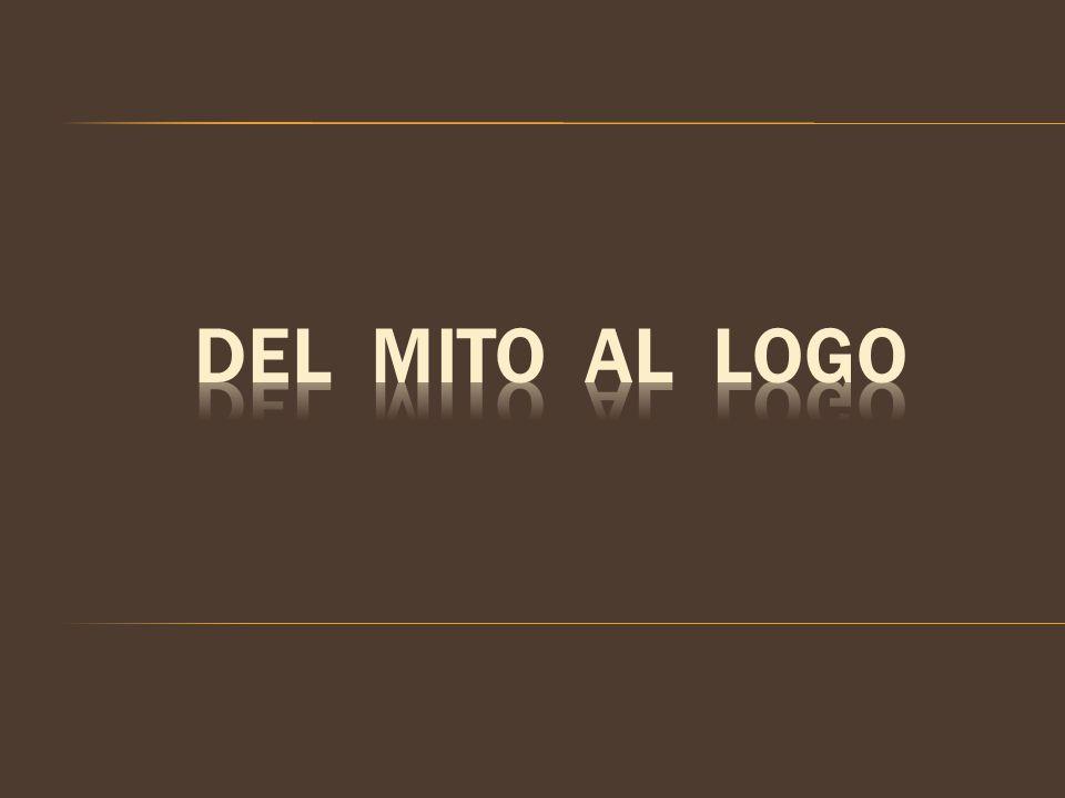 Se suele decir que el inicio de la filosofía radica en el paso del mito al logos, es decir, en el paso de explicaciones o respuestas tradicionales y arbitrarias a explicaciones lógicas y racionales.