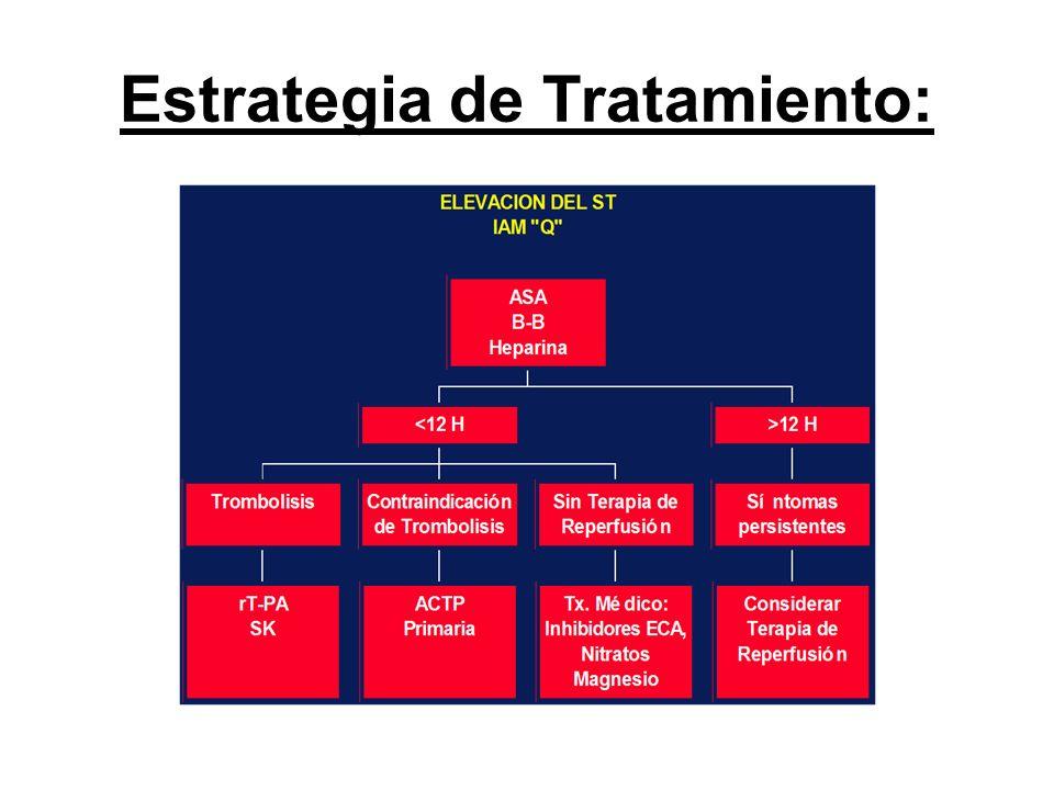 Estrategia de Tratamiento: