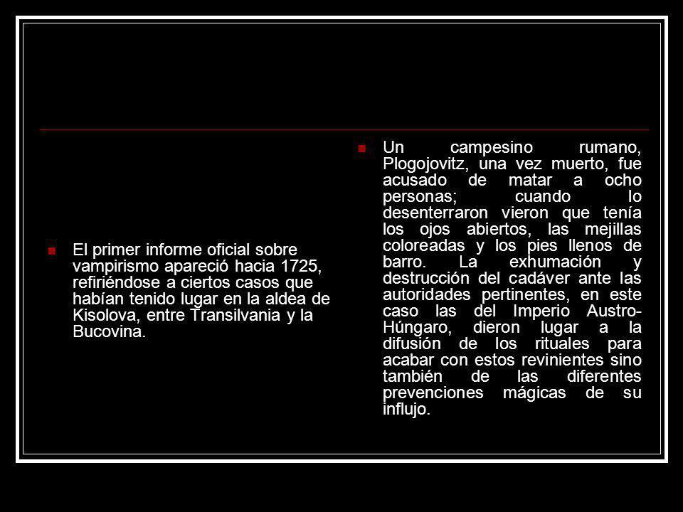 Michael Ranft, diácono de Nebra, elaboró en 1728 el De Masticatione Mortuorum in Tumulis, un tratado en el que analiza de forma ecléctica el caso de Plogovitz, con el fin de demostrar la incorruptibilidad de la carne a partir de pruebas científicas como la impermeabilidad del suelo o el crecimiento de uñas y pelo en los cadáveres.