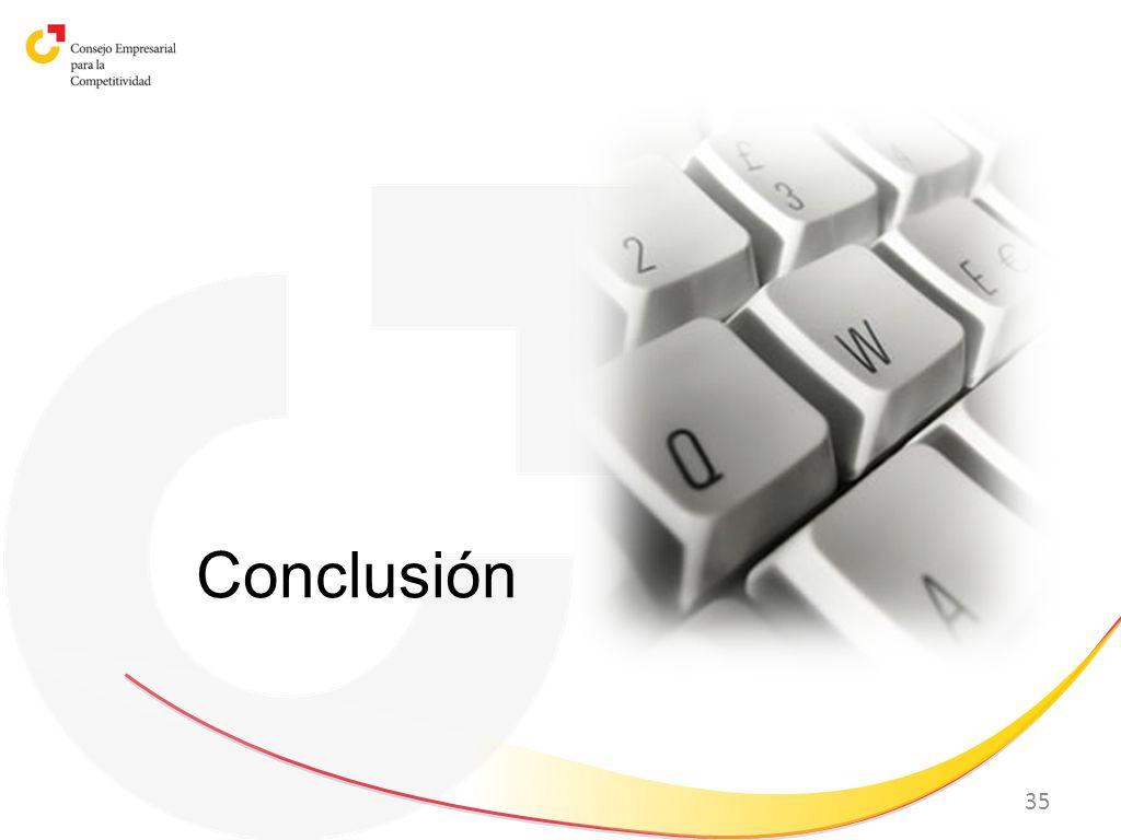 35 Conclusión