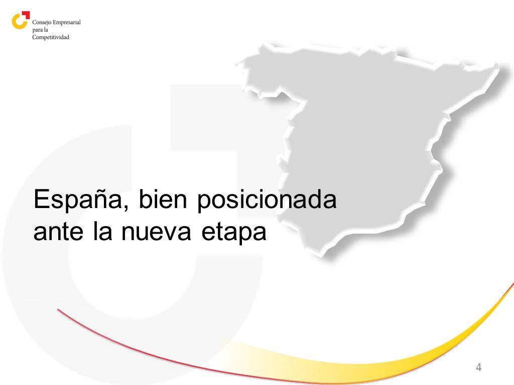 4 España, bien posicionada ante la nueva etapa