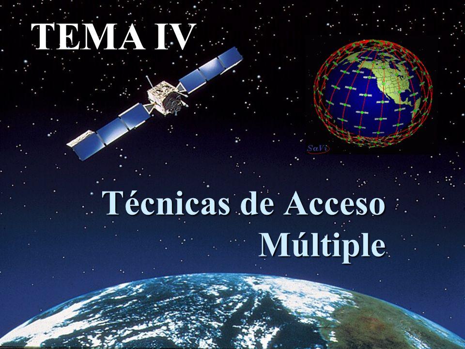 Técnicas de Acceso Múltiple TEMA IV