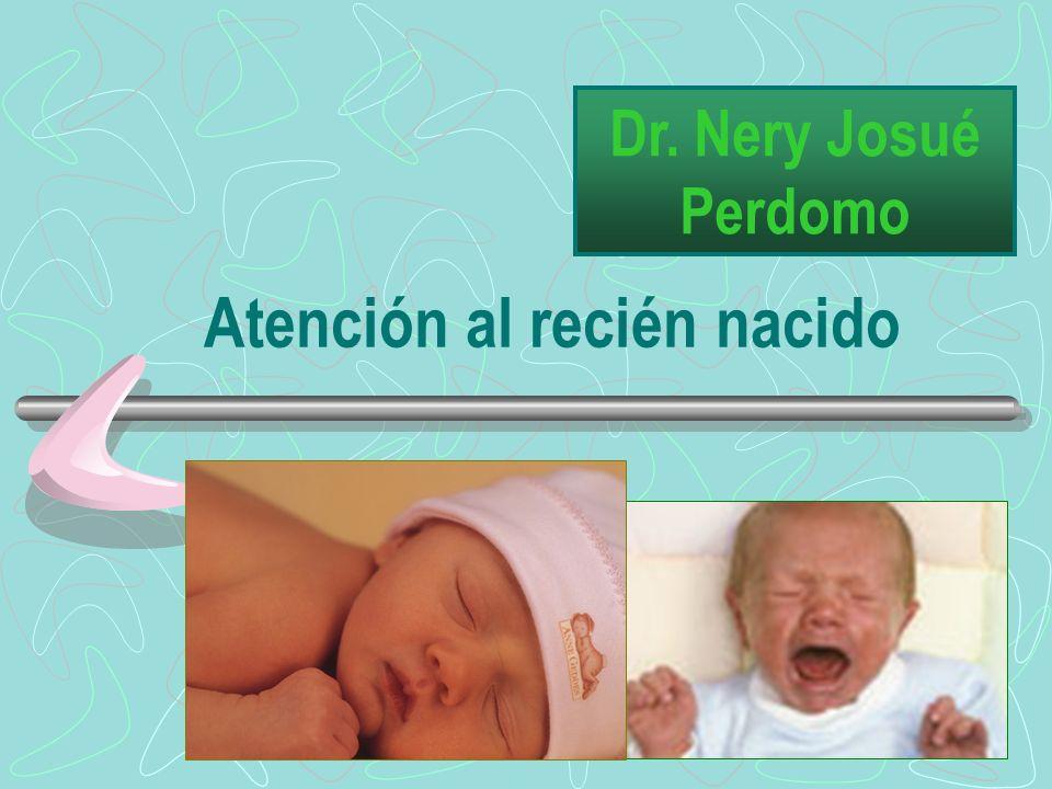 Atención al recién nacido Dr. Nery Josué Perdomo