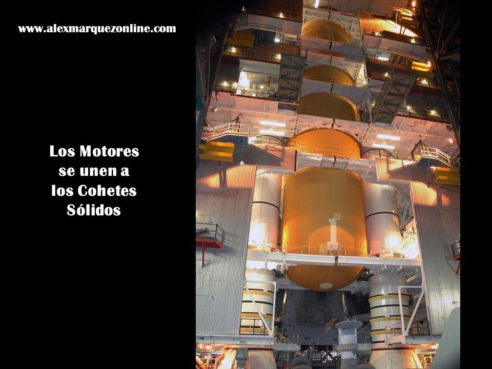 Los Motores se unen a los Cohetes Sólidos www.alexmarquezonline.com