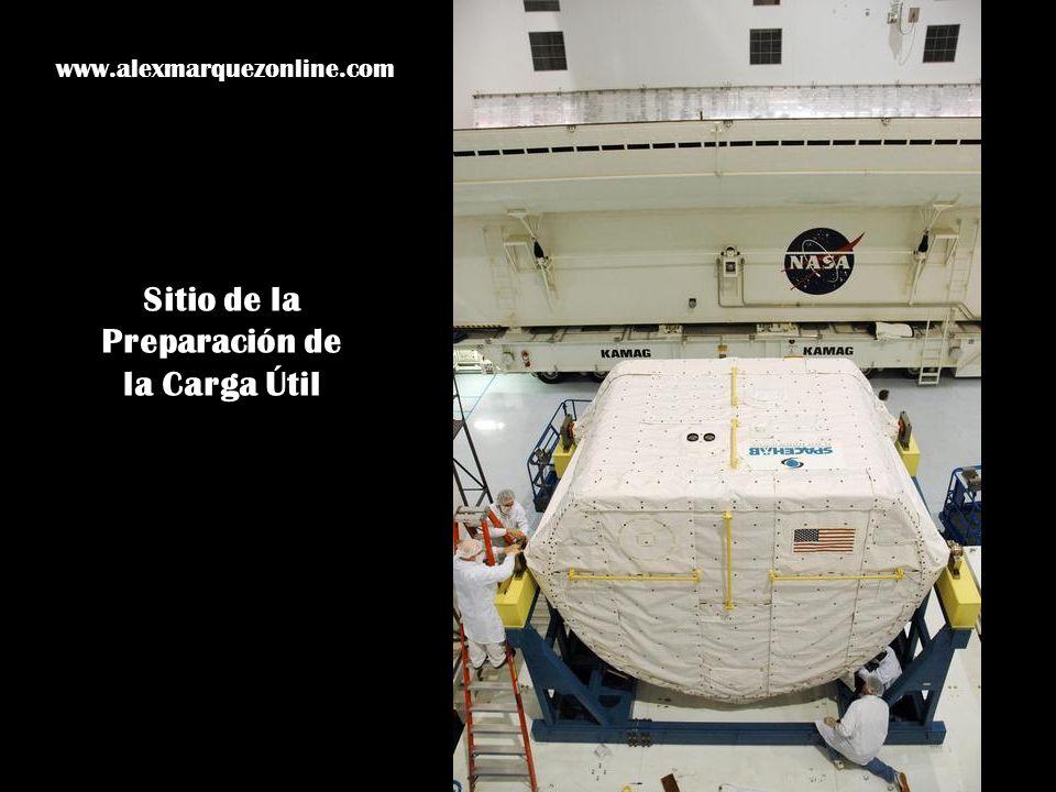 Sitio de la Preparación de la Carga Útil www.alexmarquezonline.com