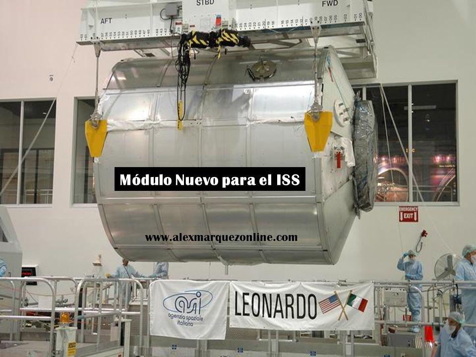 Módulo Nuevo para el ISS www.alexmarquezonline.com