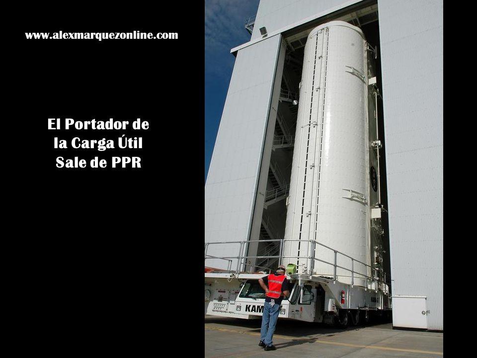 El Portador de la Carga Útil Sale de PPR www.alexmarquezonline.com