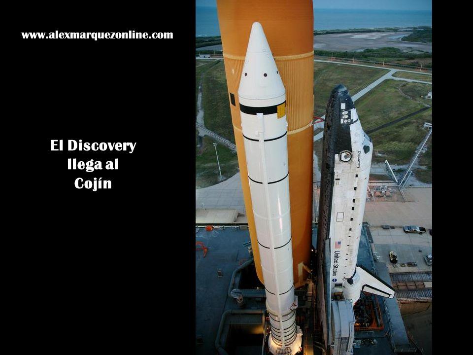 El Discovery llega al Cojín www.alexmarquezonline.com