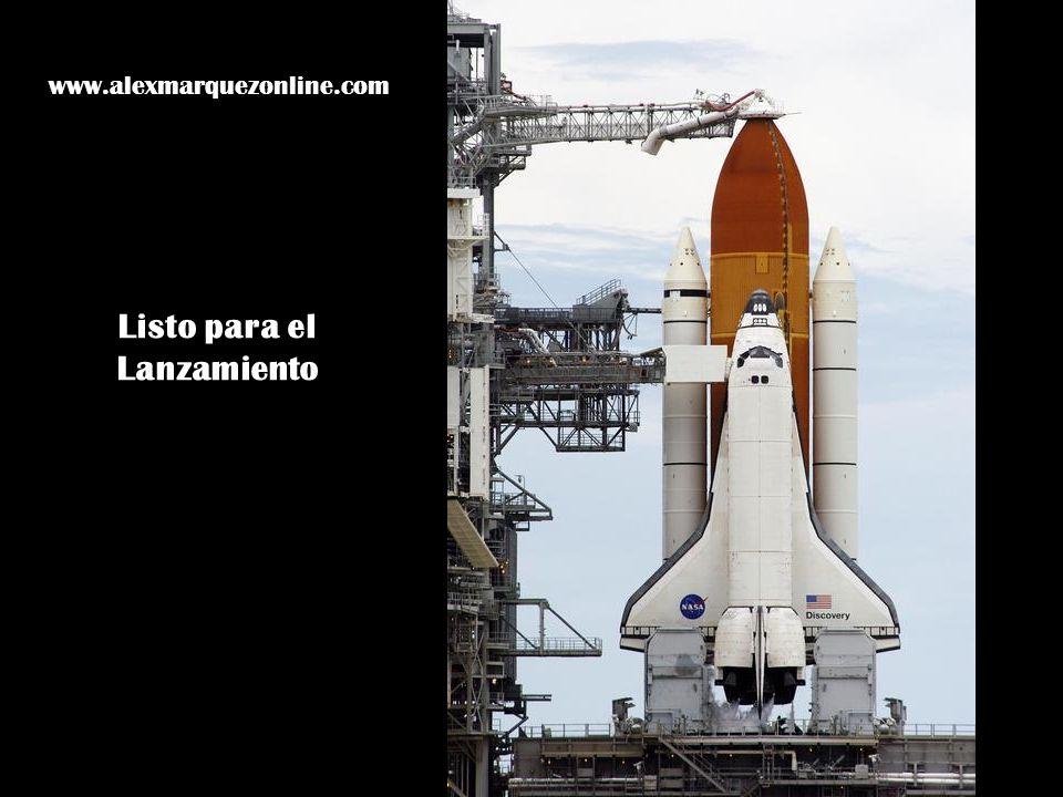 Listo para el Lanzamiento www.alexmarquezonline.com